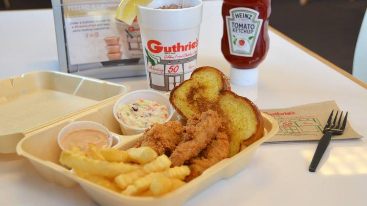 Guthries Chicken Fingers Opens First Southwest Ohio Location In