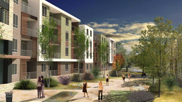 Austin Upscale Sustainable Apartment Project Underway On East Riverside
