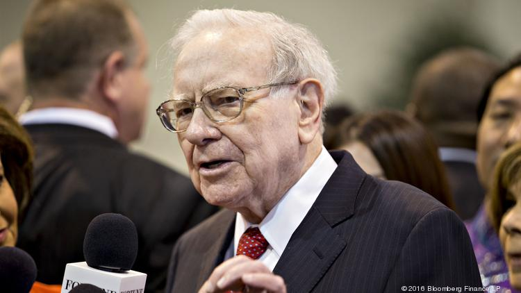warren buffett chairman and chief executive officer of berkshire hathaway inc speaks to