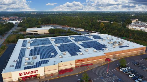Target Installing Solar Power Systems At 5 Stores In