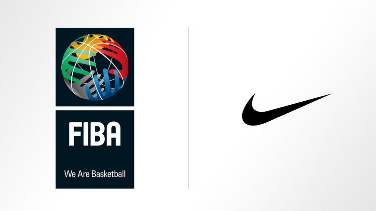 nike, segno della fiba, piano grande basket internazionale