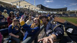 Scenes from Milwaukee Brewers spring training: Slideshow