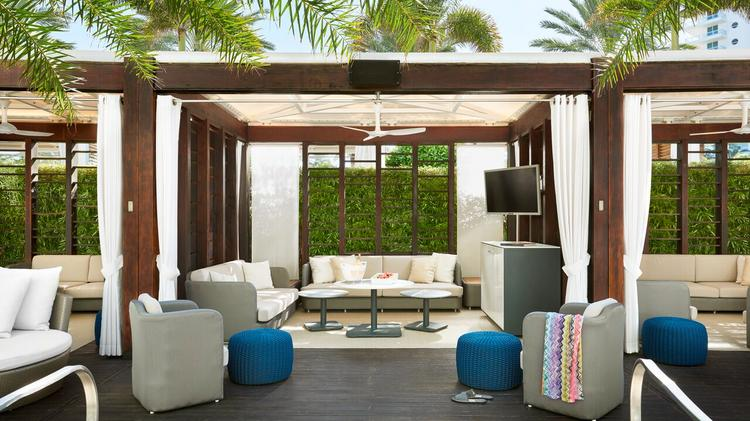 Fontainebleau Miami Beach Reveals Newly Redesigned Cabanas Suites Beauteous Miami Contemporary Furniture Remodelling