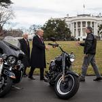 Harley-Davidson will 'continue to be involved' with Trump administration