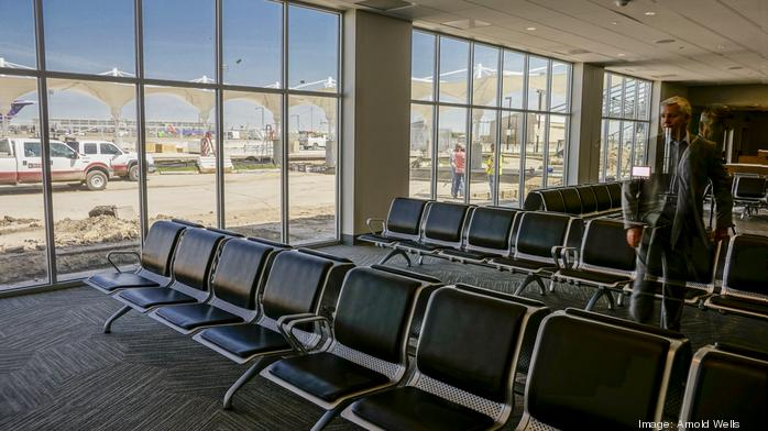 Austin airport brings city's weird vibe to aviation world; South Terminal renovations nearly finished