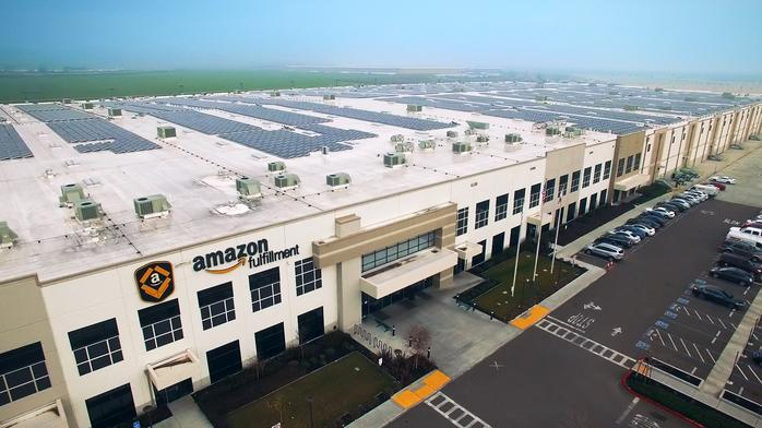 Amazon plans to tap solar energy at 50 fulfillment centers