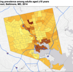 CDC data ranks Baltimore neighborhoods on health indicators