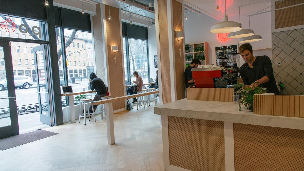 Blue apron nyc office - Pourt Is A Coffeehouse That Charges By The Hour New York Business Journal