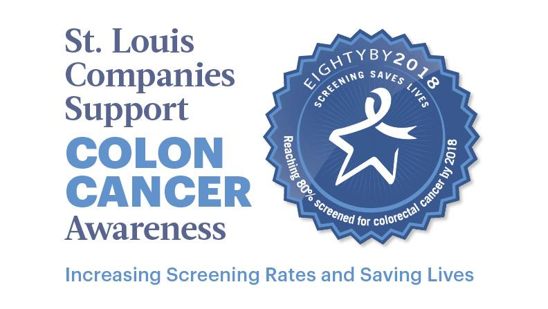 St Louis Companies Support Colon Cancer Awareness Increasing Screening And Saving Lives St Louis Business Journal