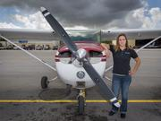 "Michelle Edwards is the business manager of Palm Beach Flight Training at the Palm Beach County Park Airport. Edwards said, ""we can't fly this weekend and we have a lot of students and renters that only come on the weekend so it hurts our business every time the president comes to town."""