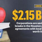 School handout: How Houston corporations benefit from Texas' largest tax incentive program