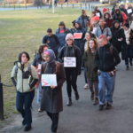 Smith College climate demonstrators push trustees for fossil fuel divestment