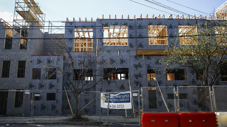 Construction Continues On The New Highland Station Apartments East Broadway
