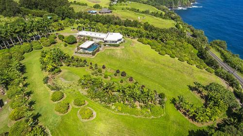 Masterfully Designed Oceanfront Royal Palms Estate on the Hamakua Coast