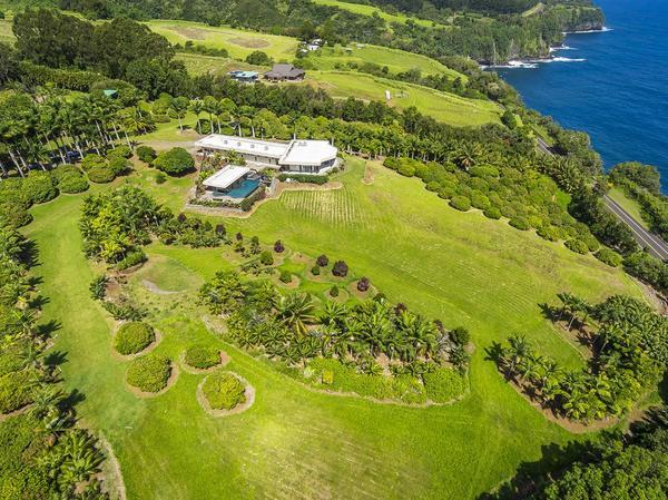 Masterfully Designed Oceanfront Royal Palms Estate on the Hamakua Coast