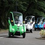 Toyota wants to test this electric 3-wheeled vehicle in the Bay Area