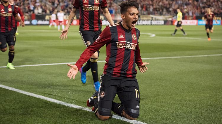 351a2540b77 Yamil Asad scores the first goal in club history in the 25th minute to give  Atlanta