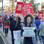 Striking Delco hospital workers clash with officials ahead of Friday return
