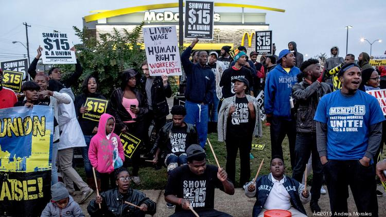 Fight for $15, fast-food workers, City of Memphis settle