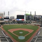 SunTrust Park nearing completion with grass install (SLIDESHOW)
