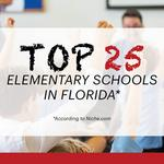 These are the 25 best elementary schools in the Sunshine State