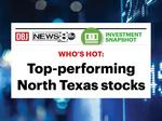 A dozen stocks lead way in North Texas as market starts year off hot
