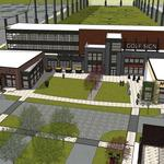 Ballpark Commons updated plan includes high-end golf center, training facility