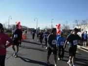 No. 1 (Companies 100-499): Van Metre Cos. employees cross the finish line of its annual five-mile run that benefits Children's National Medical Center. In March 2013, the Fairfax-based company raised $131,320.