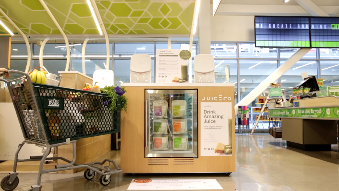 Juicero launches juice bars in Whole Foods stores in SoCal - L A  Biz