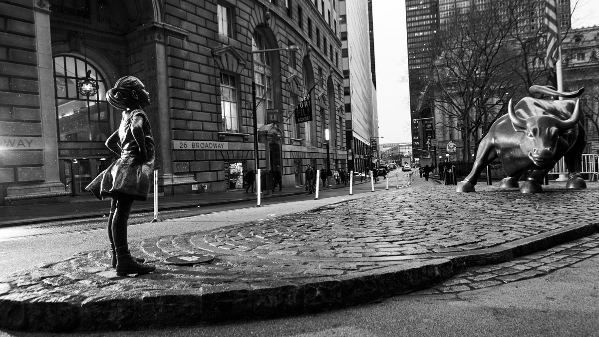 Image result for Gardega wanted to downgrade the Fearless Girl