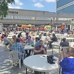 Soccer, food trucks, gardens spring up at Five Points Station