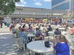 Soccer, food trucks, gardens spring up at Five Points Station