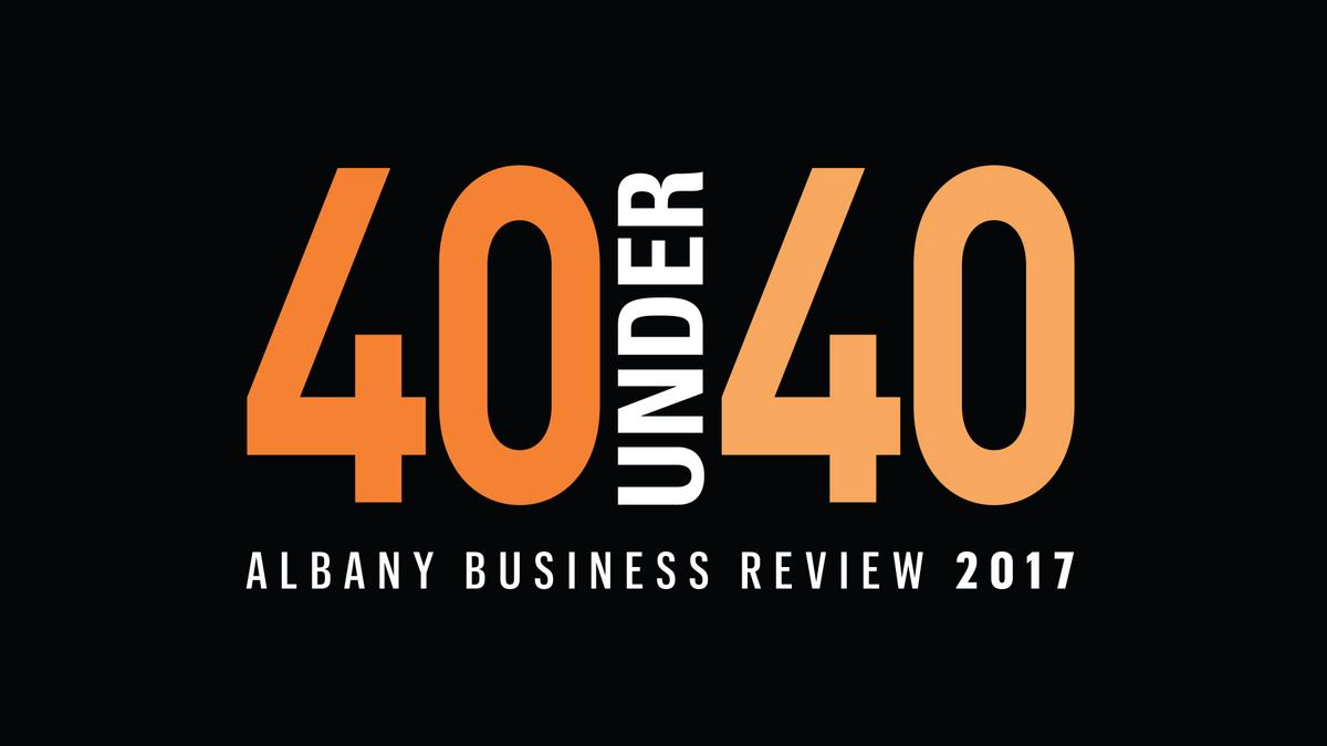 albany business review 40 under 40 2017 winners albany. Black Bedroom Furniture Sets. Home Design Ideas