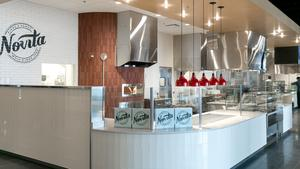 Cerner's Innovations campus features a large variety of food options for the employees who call it home.