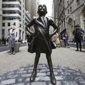 A Closer Look: Fearless Girl holds our place