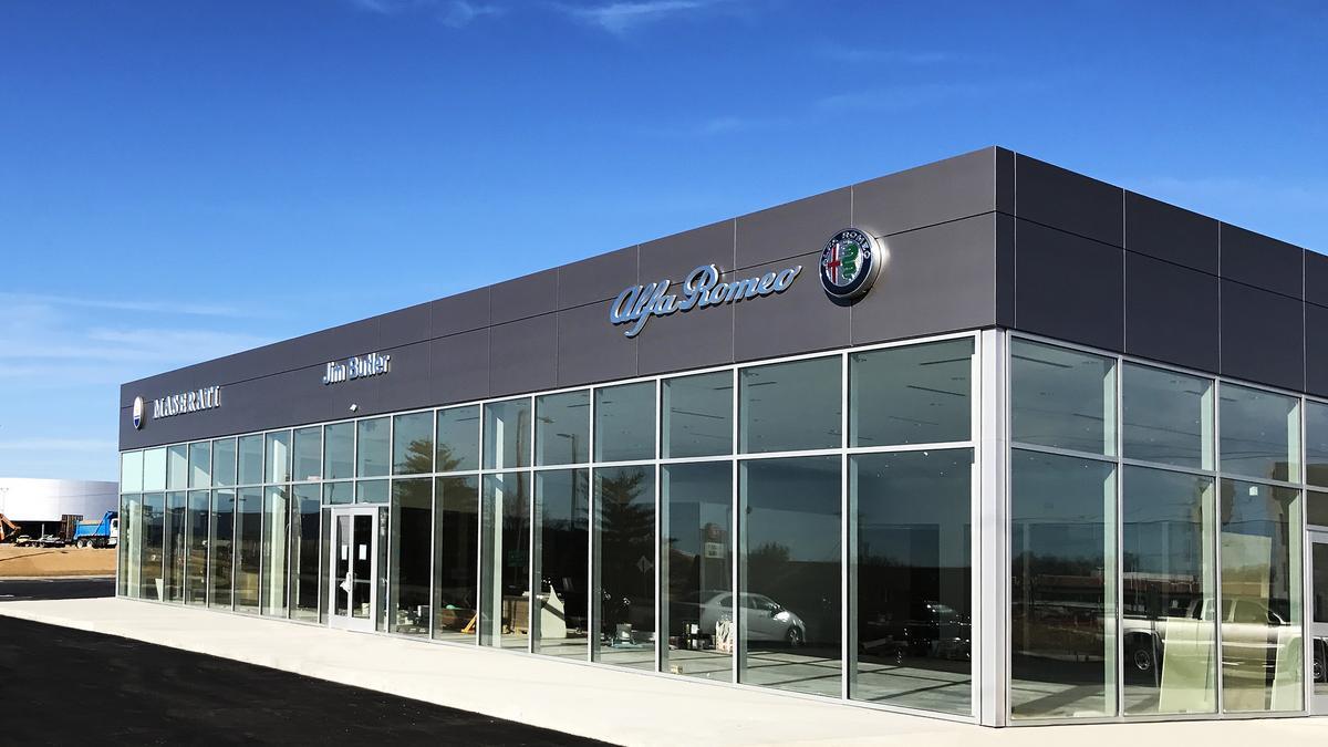 Jim Butler Opens New Maserati Dealership Photos St Louis - Maserati car dealership