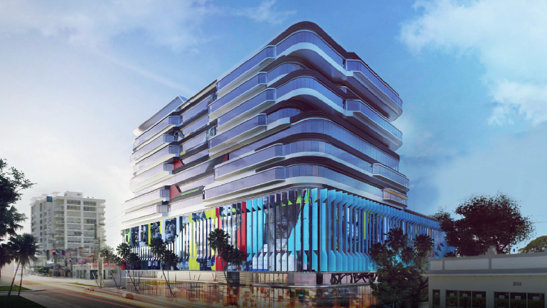 R Amp B Realty Proposes Gateway At Wynwood Office Building In
