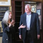 Rock legend Patti Smith receives proclamation from Milwaukee Mayor Barrett