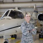 St. Louis Character: Col. Laura Lenderman follows in her father's flight plan