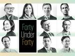 Meet the rising stars and young leaders in the 40 Under 40 Class of 2017 (video)