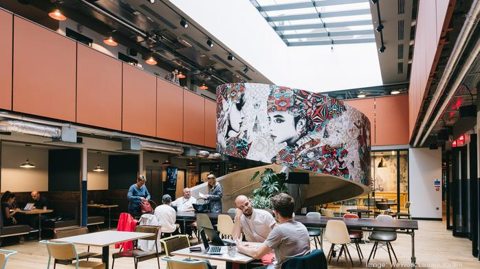 Exclusive: WeWork reveals more details for downtown Houston co-working space