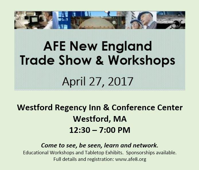 AFE New England Trade Show & Workshops