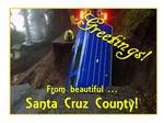Why Santa Cruz County is sending 'cheeky' postcards of its washed-out roads to Sacramento