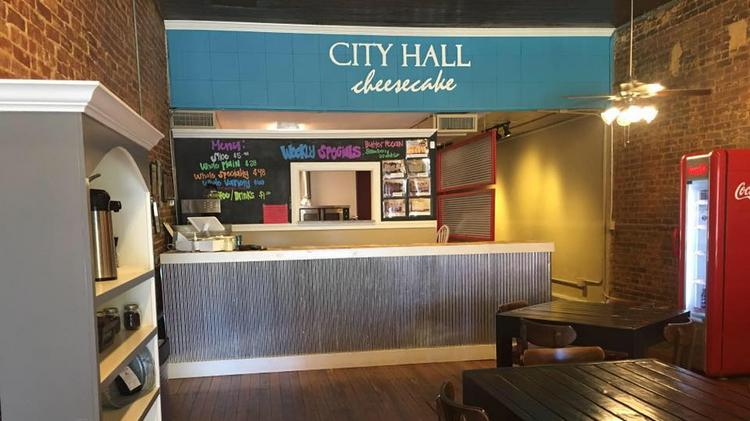 The Interior Of City Hall Cheescake Which Will Soon Be Converted Into Toasted Bistro