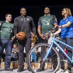 Former Bucks player Desmond Mason joins team execs as co-chairs for UPAF Ride for the Arts