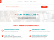 Foodsby's food-delivery service targets office buildings.