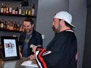 Director Kevin Smith bought a round of beer for everyone at the bar when he stopped in on March 11. The bar raised more than $3,000 for the Wayne Foundation, co-founded by Smith, which combats sexual trafficking.