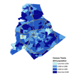 Where Charlotte's population is growing — and dropping — the most