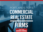 List Leaders: Meet the 5 biggest firms in Portland commercial real estate