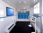Inside the new mobile unit CareFirst is rolling out to raise awareness of the state's open enrollment period.